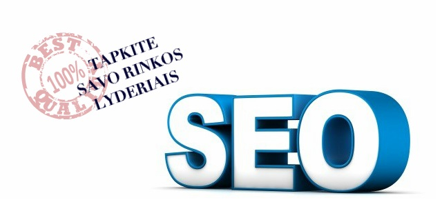 SEO optimizavimas